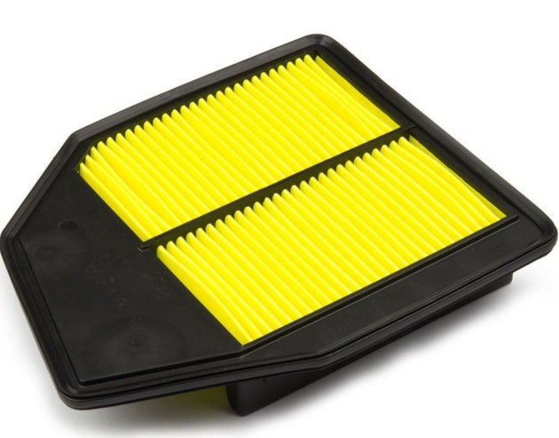10.5 X 8.8 X 2 Inches Car Engine Filter 17220 R40 A00 With Yellow / White Paper